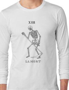 Death Tarot Card Long Sleeve T-Shirt