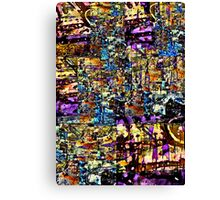 Abstract Assemblage 1 Canvas Print