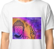 Buddha World Peace Classic T-Shirt
