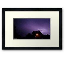 Lightning 2012 Collection 208 Framed Print