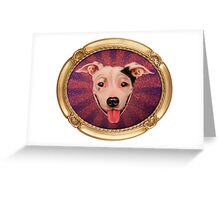 Jimmy Sue (Gold Frame) Greeting Card