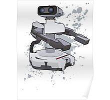 R.O.B - Super Smash Bros Poster