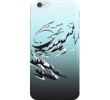 Mountain Surfing iPhone Case/Skin