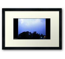Lightning 2012 Collection 234 Framed Print
