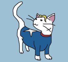 Captain America Kitty by BegitaLarcos