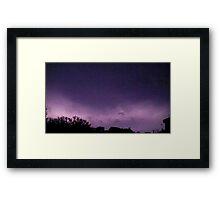 Lightning 2012 Collection 243 Framed Print