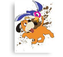 Duck Hunt Duo - Super Smash Bros Canvas Print