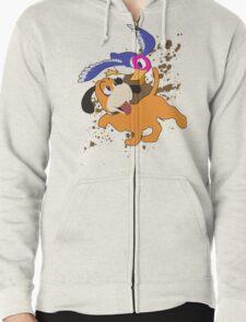 Duck Hunt Duo - Super Smash Bros Zipped Hoodie