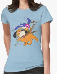 Duck Hunt Duo - Super Smash Bros Womens Fitted T-Shirt