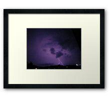 Lightning 2012 Collection 266 Framed Print