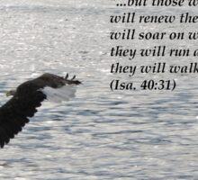 Hope Series: Isa. 40:31 Sticker