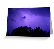 Lightning 2012 Collection 281 Greeting Card