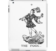 The Fool Tarot Card iPad Case/Skin