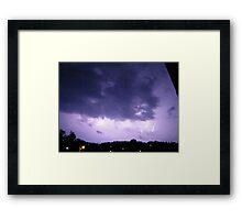 Lightning 2012 Collection 291 Framed Print