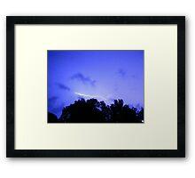 Lightning 2012 Collection 303 Framed Print