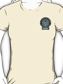 Gotham City Police SWAT Unit - Pocket Logo T-Shirt