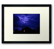 Lightning 2012 Collection 310 Framed Print