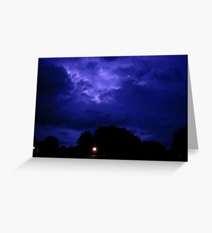 Lightning 2012 Collection 310 Greeting Card