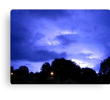 Lightning 2012 Collection 311 Canvas Print