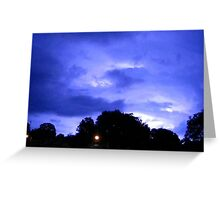 Lightning 2012 Collection 311 Greeting Card