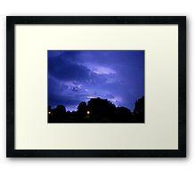 Lightning 2012 Collection 313 Framed Print