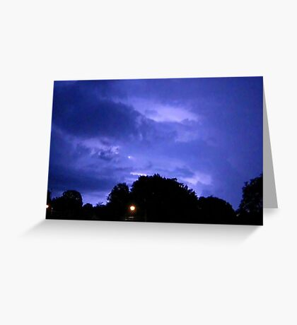 Lightning 2012 Collection 313 Greeting Card