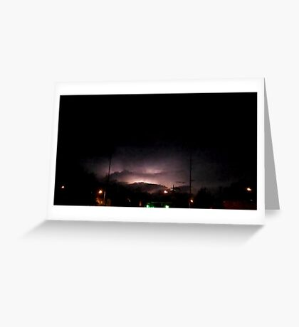 Lightning 2012 Collection 315 Greeting Card