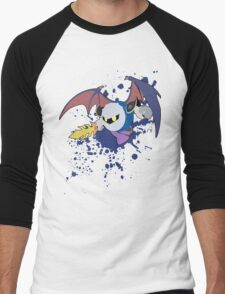 Meta Knight -   Super Smash Bros Men's Baseball ¾ T-Shirt