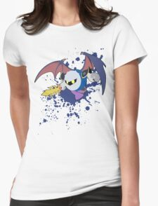 Meta Knight -   Super Smash Bros Womens Fitted T-Shirt