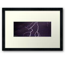 Lightning 2012 Collection 319 Framed Print