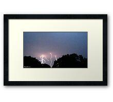 Lightning 2012 Collection 320 Framed Print