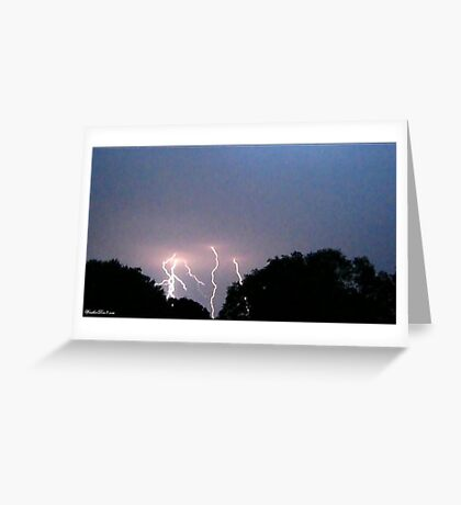 Lightning 2012 Collection 320 Greeting Card