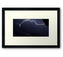 Lightning 2012 Collection 321 Framed Print