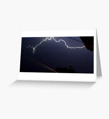 Lightning 2012 Collection 321 Greeting Card