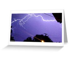 Lightning 2012 Collection 322 Greeting Card