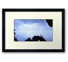 Lightning 2012 Collection 323 Framed Print
