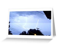 Lightning 2012 Collection 323 Greeting Card