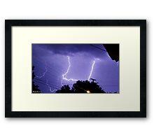 Lightning 2012 Collection 324 Framed Print