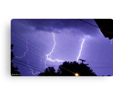 Lightning 2012 Collection 324 Canvas Print