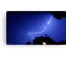 Lightning 2012 Collection 325 Canvas Print
