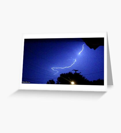 Lightning 2012 Collection 325 Greeting Card