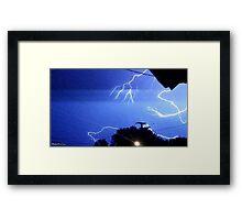 Lightning 2012 Collection 327 Framed Print