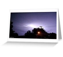 Lightning 2012 Collection 329 Greeting Card