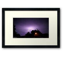 Lightning 2012 Collection 331 Framed Print