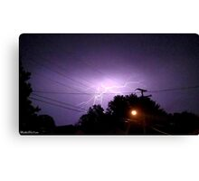 Lightning 2012 Collection 331 Canvas Print