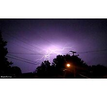 Lightning 2012 Collection 331 Photographic Print