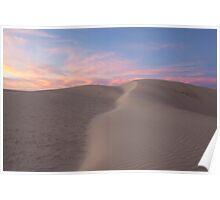 Geraldton Sand Dunes Poster