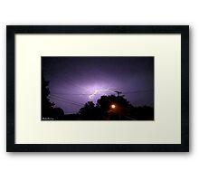 Lightning 2012 Collection 333 Framed Print