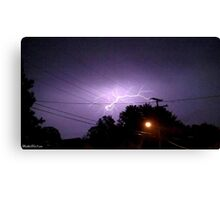 Lightning 2012 Collection 333 Canvas Print
