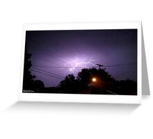 Lightning 2012 Collection 333 Greeting Card